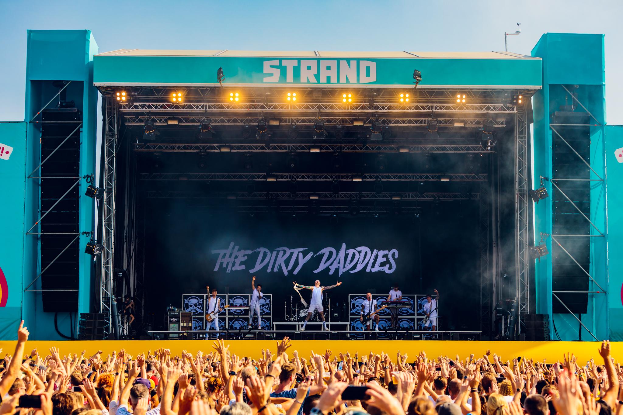 Dirty Daddies op festival Strand